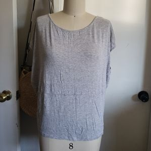 Willow & Clay Drapy Grey Shirt